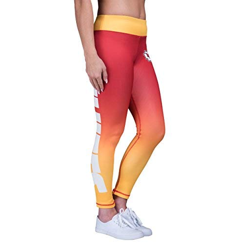 Forever Collectibles Kansas City Chiefs Gradient 2.0 Wordmark Legging - Womens Small