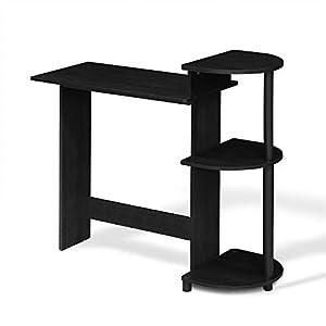 Furinno 11181BK/GY Compact Computer Desk