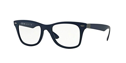 Ray-Ban Eyeglasses RX7034 5439 Matte Dark Blue 52 19 - Blue Dark Eyeglasses