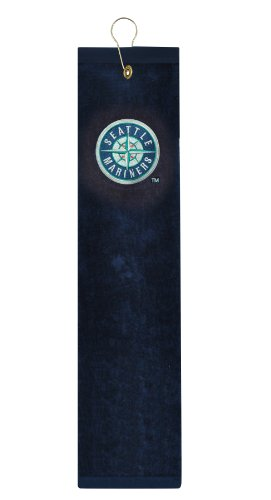 Seattle Mariners Embroidered Tri-Fold Golf (Seattle Mariners Bag)