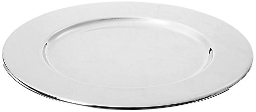 amazon com elegance silver 8264a silver plated plate 6 pack of 4