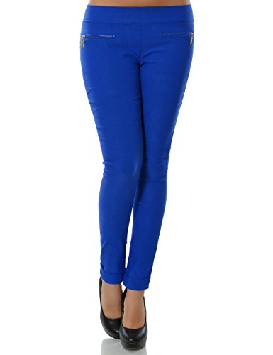 Daleus Uni Femme Jegging Bleu Pantalon gwqgfrUz4