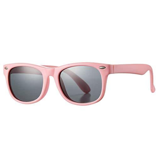 Pro Acme TPEE Rubber Flexible Kids Polarized Sunglasses Age 3-10