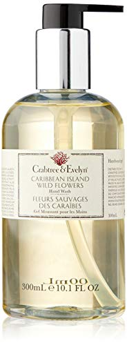 Crabtree & Evelyn Hand Wash, Caribbean Island Wild Flowers, 10.1 Fl Oz