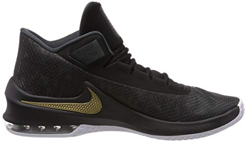 Mid white anthracite Max Homme Chaussures black 002 De Infuriate Nike Multicolore Basketball Air 2 metallic Gold WISFaq
