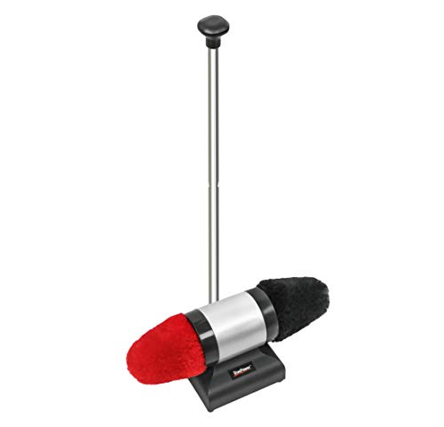 TruePower Electric Shoe Shine Polisher with Lamb Wool Buffers