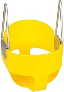 مقعد أرجوحة للأطفال في الأماكن المغلقة/المفتوحة من RBWToyYS بلون أصفر للأطفال أنشطة الأطفال كرسي أرجوحة rbwtoy13126
