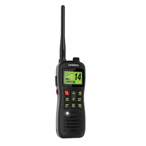 Uniden MHS235 Handheld Submersible 2-Way 5W Digital Selective Calling (DSC) Marine Radio - Black by Uniden