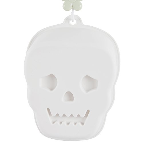 KinHwa Silicone Cake Mold for Baking Non-Stick Baking Mold Shapes Easy to Clean Skull Cake Pan Bakeware 3D ()