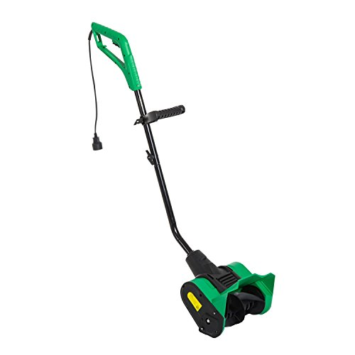"""Outsunny 12"""" Electric 9 Amp Adjustable Rolling Lightweight Snow Thrower by Outsunny"""
