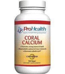 Le calcium de corail (500 mg, 100 capsules végétales)