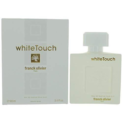 Franck Olivier White Touch Eau De Parfum Spray for Women, 3.3 Ounce