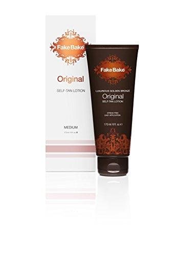 Self Tanning Lotion Original Formula by Fake Bake 6 fl (Tanning Formula)