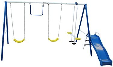 Amazon Com Flexible Flyer Backyard Swingin Fun Baby Toys Baby