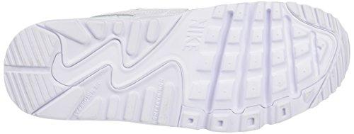 Running Max 90 Air Entrainement Bleu gs white Chaussures Garçon De Nike Blanc white Ltr 5g0ww