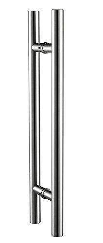 TG 6012 H shape Stainless Aluminum Brushed