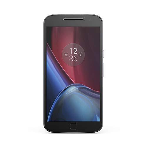 Motorola Moto G4 Plus XT1641 Unlocked GSM 4G LTE Phone w/ 16MP Camera - Black (Renewed)