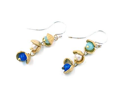 """""""Itty Bitty Shell"""" Drop Earrings by Michael Michaud for Silver Seasons..."""