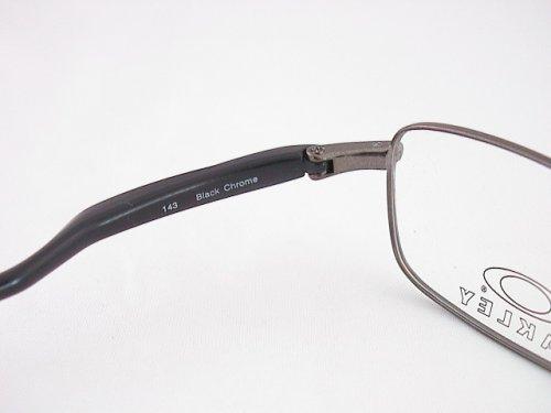 6f24ee09ca4 Amazon.com  Oakley Blender 2.0 Eyeglasses Rx Frames Bk Chrome Size  50-19  New  Health   Personal Care
