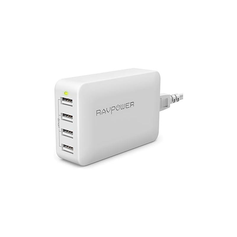 USB Charging Station, RAVPower 4-Port US