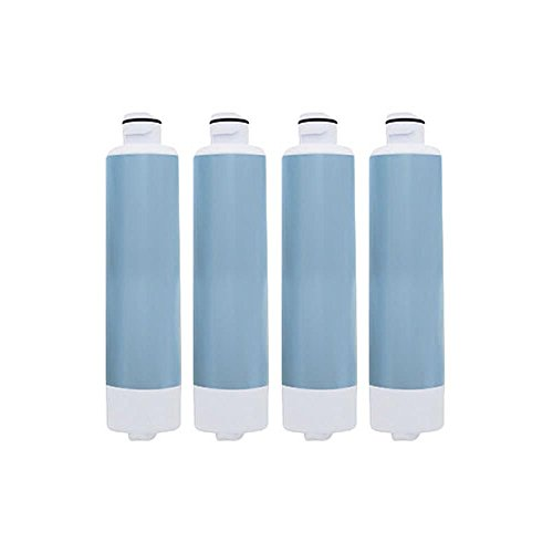 Replacement Water Filter Cartridge for Samsung Refrigerator Models RFG298HD / RS25H5000BC (4 Pack) by BLOSSOMZ