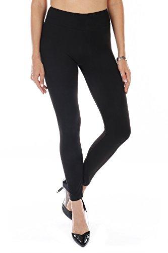 Women's Premium Yoga Style Fashion Leggings Ultra Soft High Waist Full Length – Reg & Plus Size – Double Pack Available