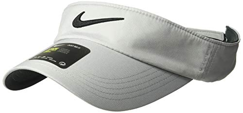 Nike Unisex Golf Visor, Dri-FIT & Adjustable Sun Visor for Women and Men, Wolf Grey/Anthracite/Black