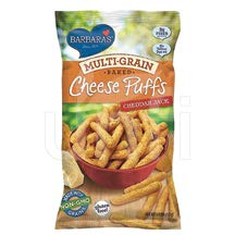 BARBARA'S BAKERY, CHEESE PUFFS, BKD, CHDR JCK, Pack of 12, Size 5.5 OZ - No Artificial Ingredients
