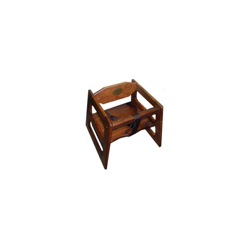 Tomlinson 1017826 Marston Walnut Booster Seat for - Booth Furniture Kitchen
