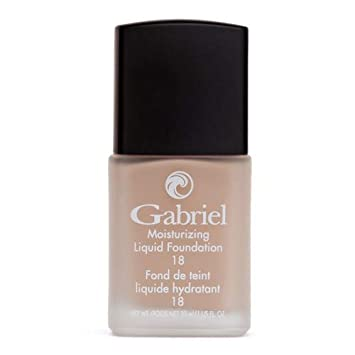Gabriel Cosmetics, Liquid Foundation Cream Beige, 1 Ounce
