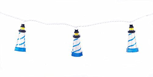 DEI 20268 House String Light, 8.5'L, White ()