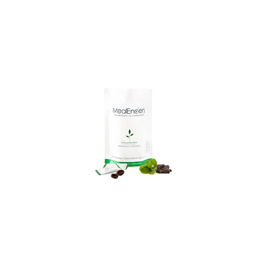 MealEnders Signaling Lozenges–Control Appetite, Curb Cravings, Stop Overeating, and Master Portion Control–Helps You Stick to Any Diet Weight Loss Program, 25 pc Pouch (Pack of 3)