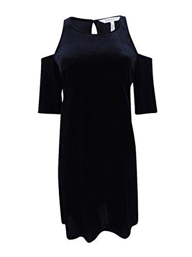 - BCBGeneration Women's Cold Shoulder Dress, Black, M