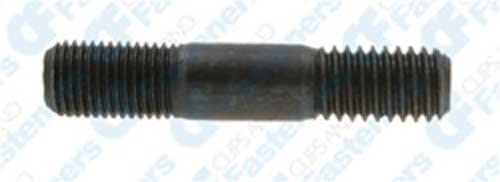 Clipsandfasteners Inc 10 Double-End Studs 7//16-20 SAE x3//4-7//16-14 USS x3//4