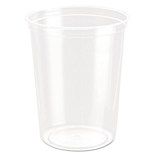 Bare Eco-Forward Rpet Deli Containers, 32 Oz, Clear, 50/pack, 10/carton