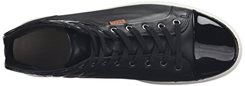 ECCO Soft 7 Ladies, Scarpe da Ginnastica Donna Nero(black/Black/Powder 58658)