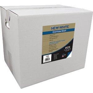 MERIT PRO 210234 Not Applicable 99748 #25 20Lb Box New White Cotton Wiper