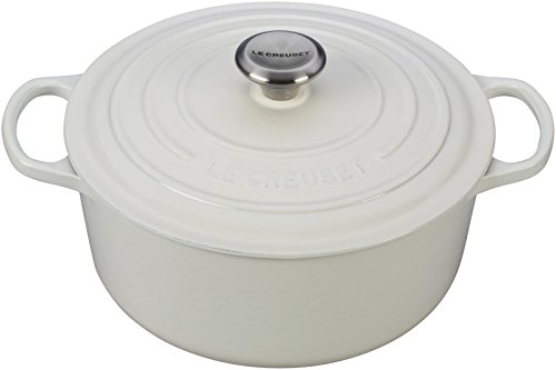Le Creuset Signature Enameled Cast-Iron 5-1/2-Quart Round French (Dutch) Oven, (Le Creuset Oven Mitt)