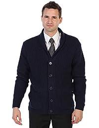Men's Shawl Collar Knitted Cardigan