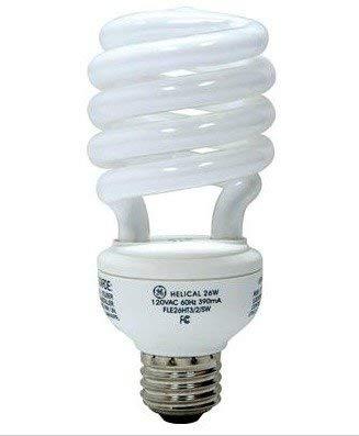GE Lighting 74202 26 Watts 1750 Lumen Energy Smart Spiral CFL Bulb with Medium ()