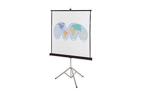 Quartet Portable Tripod Projection Screen, 70 x 70 Inches, High-Resolution, Matte Surface (570S) by Quartet�
