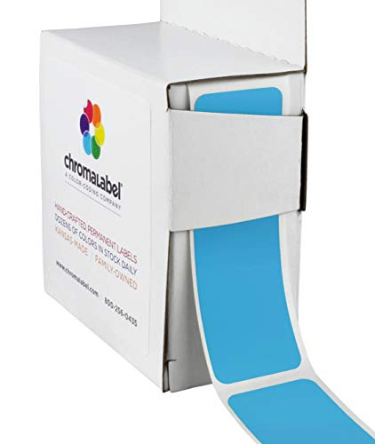 ChromaLabel 1 x 3 inch Color-Code Labels | 250/Dispenser Box (Light ()