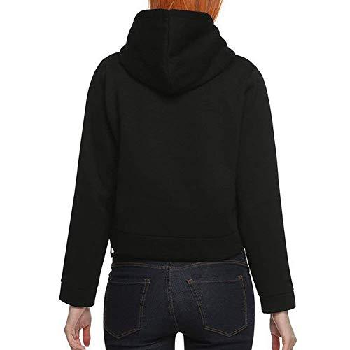 Digitale Senza Cappuccio Caldo Mode Donna Cime Hoodies Felpe Invernali Marca Autunno Sweatshirts Casuale Con Stampate Ventre Blau Di Manica Fashion Lunga Baggy Felpa Eleganti Bolawoo qwtR0vn7A