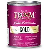 Fromm Gold Grain Free Salmon & Chicken Pate Canned Dog Food