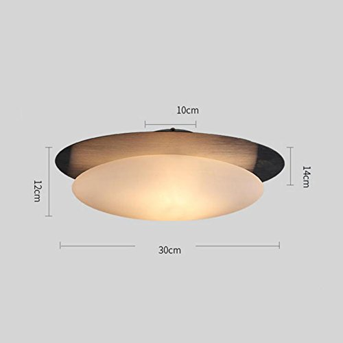 Modern Ceiling Lamp White European Pebbles Glass Ceiling Lamp Living Room Dining Room With Rice Door #Ceiling chandelier