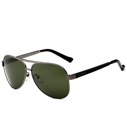 Solgafas Fiesta 400 Lentes Sol para Compras De Gafas con De Polarizadas Viajar De Informal UV Gafas Senderismo Limotai Sol Gris De IR para Hombres gris qWBEPnYnw