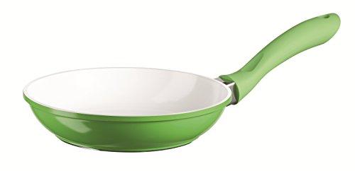 Domestic TOP Selection 812124 Serie Alioth, Bratpfanne 20 cm in grün, Aluguss 2 mm und hochwertigen schweizer ILAG Ceramic Beschichtung