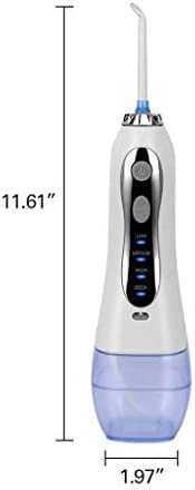 GUSYHGS ワイヤレス水フロスワイヤレスアドバンストデンタルフロッサー/ポータブル口腔洗浄器/デンタルフロス口の深いクレンジング、USB充電家族旅行に使用できますが、IPX7防水良い品質