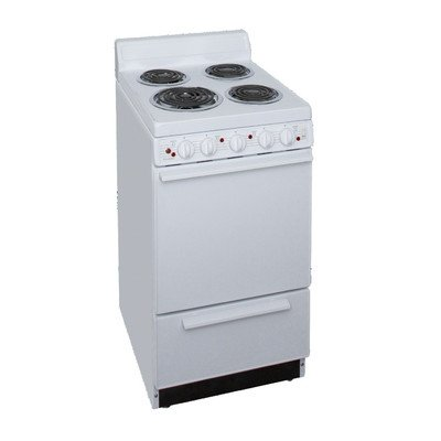 2.42 Cu. Ft. Electric Range in White