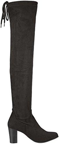 25504 Donna 3 Black Stivali Nero Caprice gEwHxqdg